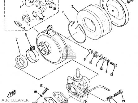 Yamaha Lt3 1972/1973 parts list partsmanual partsfiche