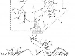 Yamaha MT01 2005 5YU1 EUROPE 1D5YU-300E1 parts lists and