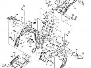 Yamaha MT01 2005 5YU1 EUROPE 1D5YU-351F1 parts lists and