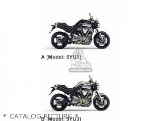 Yamaha MT01 2006 5YU3 EUROPE 1E5YU-300E1 parts lists and