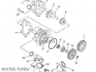 Yamaha MT03 2006 5YK1 BELGIUM 1E5YK-300E1 parts lists and