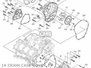 Yamaha MTN850-A MT-09 ABS 2017 BS21 EUROPE 1SBS2-300E1