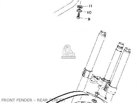 Yamaha MX100 1975 USA parts lists and schematics