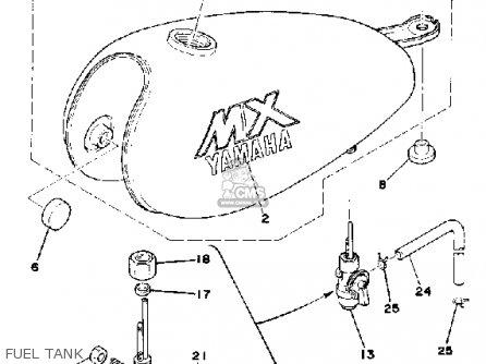 Yamaha MX100 1979 USA parts lists and schematics