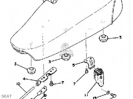 Yamaha Mx100 1979 Usa parts list partsmanual partsfiche
