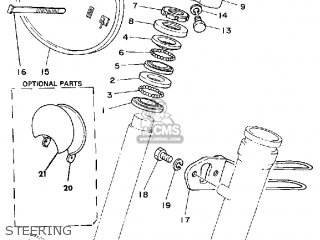 Yamaha MX100 1980 (A) USA parts lists and schematics