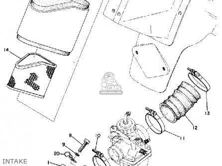 Yamaha MX125 1974 USA parts lists and schematics