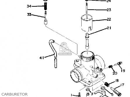 Yamaha MX175 1974 USA parts lists and schematics