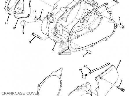 Yamaha MX175 1975 USA parts lists and schematics