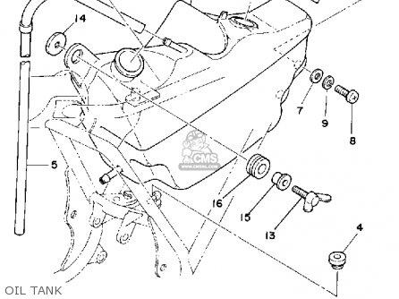 Yamaha Mx175g 1980 parts list partsmanual partsfiche