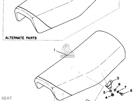 Yamaha MX250 1975 USA parts lists and schematics