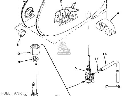Yamaha MX80 1980 (A) USA parts lists and schematics