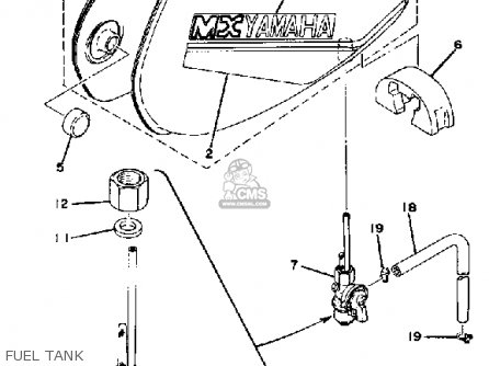 Yamaha MX80 1981 (B) USA parts lists and schematics