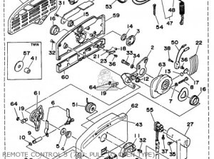 Yamaha Outboard Rigging 19941996 parts list partsmanual partsfiche