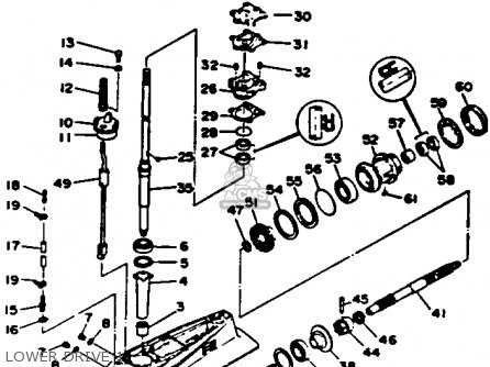 Yamaha P50TLRR 1993 parts lists and schematics