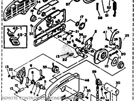 Yamaha P50tlrr 1993 parts list partsmanual partsfiche