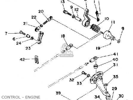 Yamaha P60thq 1992 parts list partsmanual partsfiche