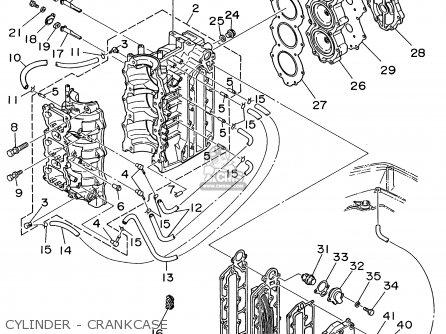 Yamaha P60thw 1998 parts list partsmanual partsfiche