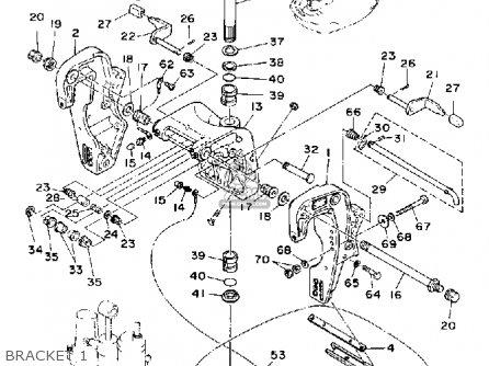 Yamaha Pro 50d 1990 parts list partsmanual partsfiche