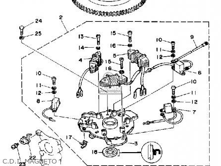 Yamaha PRO 50D 1990 parts lists and schematics