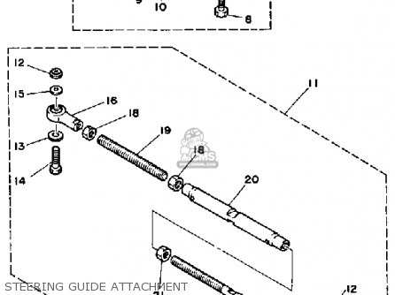 Yamaha PRO 50G 1988 parts lists and schematics