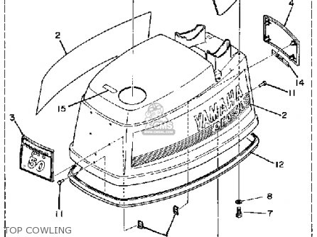 Yamaha PRO 50H 1987 parts lists and schematics