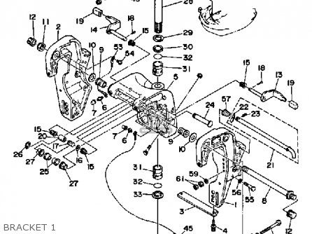 Yamaha Pro 50lf 1989 parts list partsmanual partsfiche