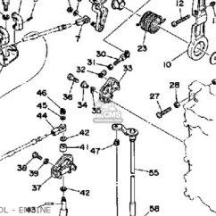 Yamaha Trim Gauge Wiring Diagram Electrical Building Construction Diagrams Pro V 150f 1989 Parts List Partsmanual Partsfiche