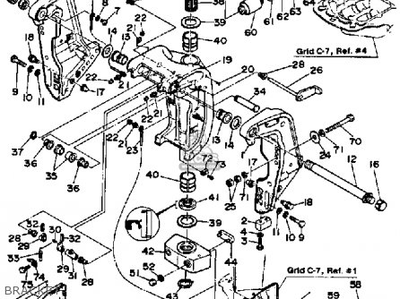 Yamaha Pro V 150h 1987 parts list partsmanual partsfiche