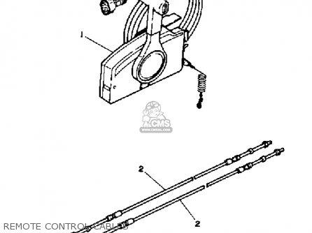 Yamaha Pro V 150h 1987 parts list partsmanual partsfiche
