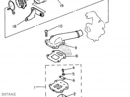Yamaha Pw50-1 1996 (t) Usa parts list partsmanual partsfiche