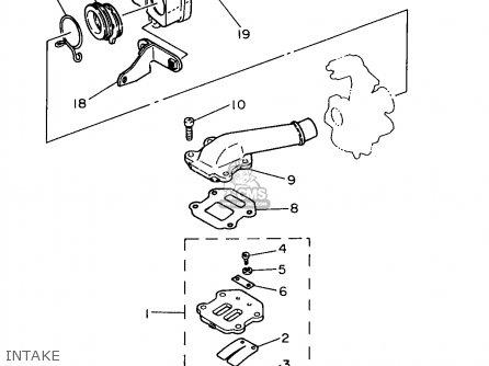 Yamaha PW50-1 1997 (V) USA parts lists and schematics