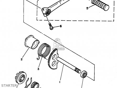 Yamaha Pw50-1 1998 (w) Usa parts list partsmanual partsfiche
