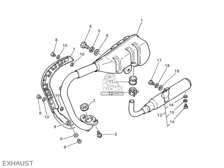 Yamaha PW50-1 2000 (Y) USA parts lists and schematics
