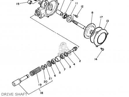 Yamaha Pw50-1 2001 (1) Usa parts list partsmanual partsfiche
