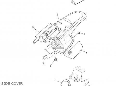 Yamaha PW50-1 2001 (1) USA parts lists and schematics