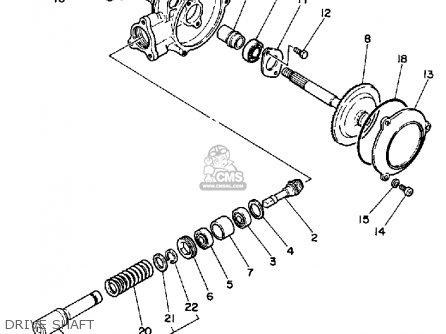 Yamaha Pw50 1985 (f) Usa parts list partsmanual partsfiche