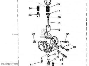 Yamaha Pw50 1986 (g) Usa parts list partsmanual partsfiche