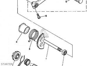 Yamaha PW50 1986 (G) USA parts lists and schematics