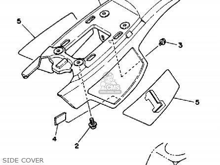 Yamaha Pw50 1987 (h) Usa parts list partsmanual partsfiche