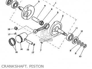 Yamaha PW50 1988 3AP FRANCE 283AP-351F1 parts lists and