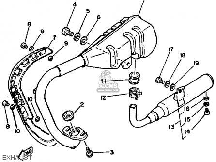 Yamaha Pw50 1994 (r) Usa Canada parts list partsmanual