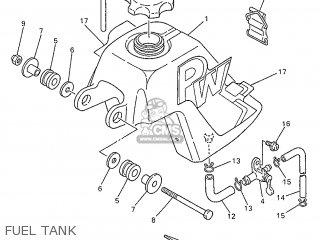 Yamaha PW50 1997 3PTP ENGLAND 273PT-300E1 parts lists and