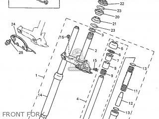 Yamaha PW50 1998 3PTT DENMARK 283PT-300E1 parts lists and