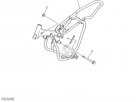 Yamaha Pw50 2003 (3) Usa / 50 States parts list