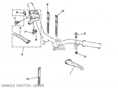 Yamaha PW50 2003 (3) USA / 50 STATES parts lists and
