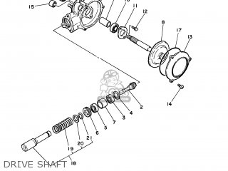 Yamaha PW50 2003 5PG6 JAPAN 1B5PG-300E1 parts lists and