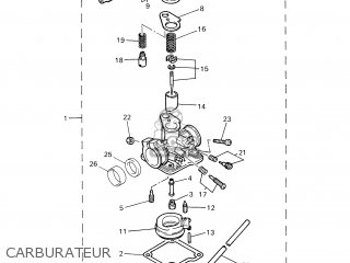Yamaha PW50 2004 5PG8 FRANCE 1C5PG-351F1 parts lists and