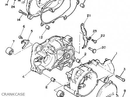 Yamaha Pw50 Yzinger 1991 (m) Usa parts list partsmanual
