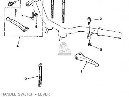 Yamaha PW50 YZINGER 1991 (M) USA parts lists and schematics